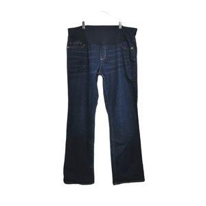 SIZE 16/31 Liz Lange Maternity Jeans EUC